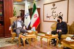 نشست رئیس فدراسیون کشتی با استاندار البرز برگزار شد