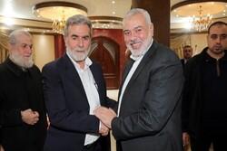 رهبران حماس و جهاد اسلامی بر مقاومت در برابر صهیونیسم تأکید کردند