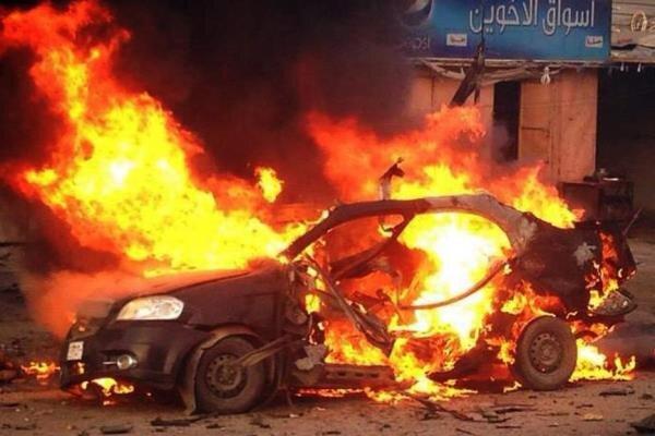 خودروی سازمان سیا در عراق هدف حمله قرار گرفت