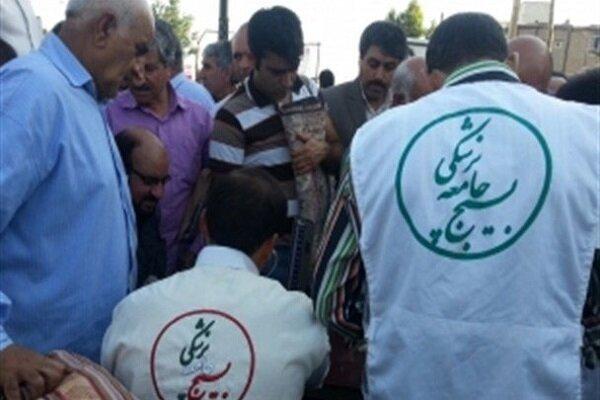 مشارکت ۴۵۰ هزار نیروی بسیج جامعه پزشکی در اجرای طرح شهید سلیمانی