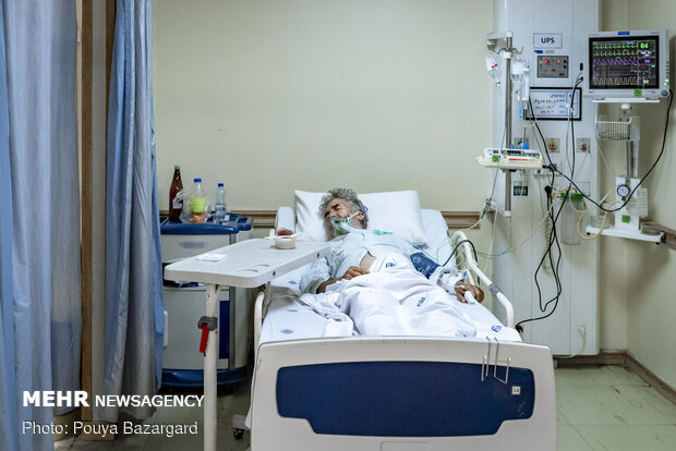 Hospitals in Tehran in fight against Covid-19