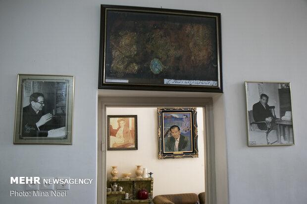İran'ın ünlü şairi Şehriyar'ın müzesinden fotoğraflar