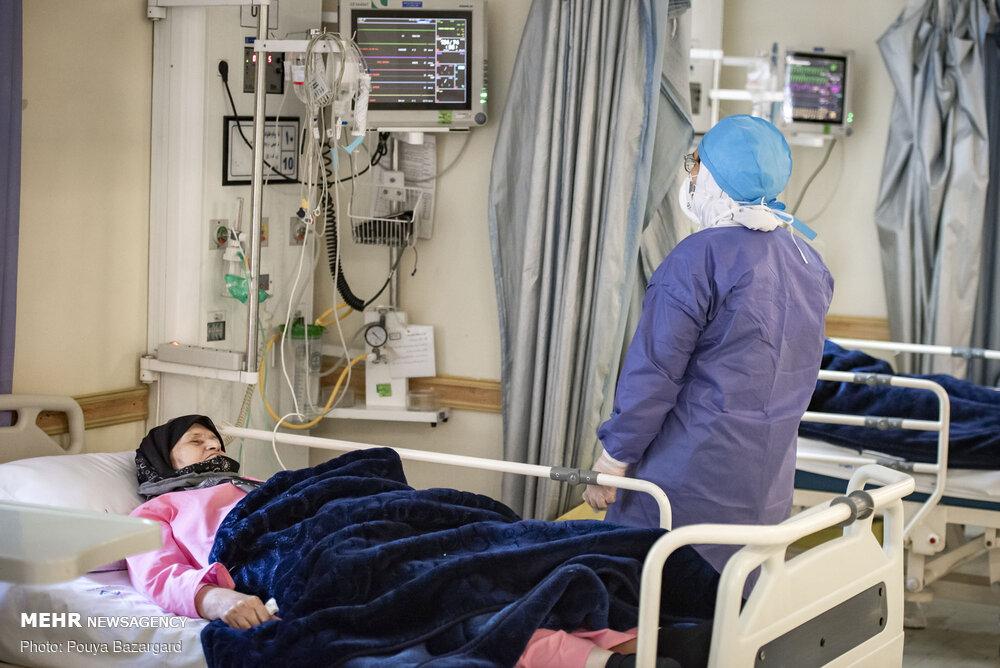 حال ۱۲۴ بیمار کرونایی یزد وخیم است