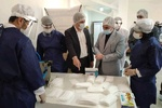 افتتاح واحد تولید ماسک پزشکی در یاسوج/ تولید روزانه ۵۰۰۰ ماسک