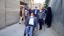 نظارت کانونهای معلولان محلات شهر تهران بر پروژه پیاده راه سازی