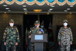 ایرانی فوجی جوانوں کی تربیت کے اٹھارہويں مرحلے کی اختتامی تقریب