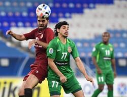 دیدار تیم فوتبال شهرخودرو و الاهلی امارات