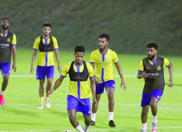 ریکاوری تیم النصر عربستان قبل از بازی برگشت با سپاهان