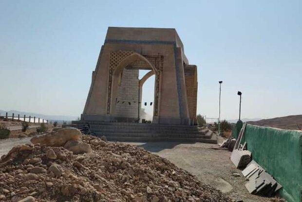 مقبره شهدای شهرک میانرود به پیمانکار جدید واگذارشد