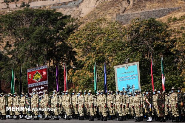 Army uni. students' graduation ceremony in Tehran