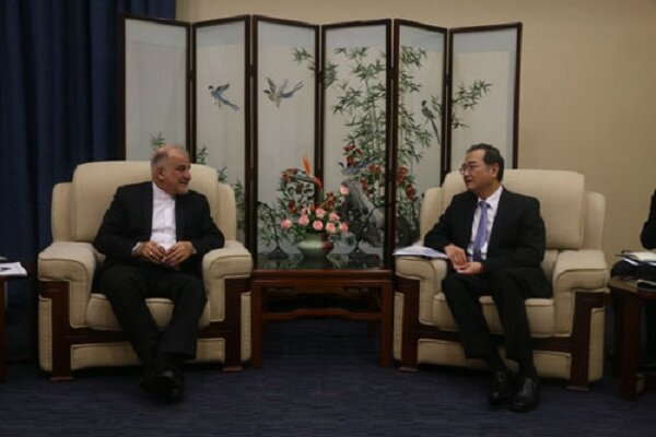 Chinese official calls for coop. expansion with Iran