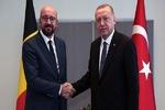 اردوغان و رئیس شورای اروپا درباره مدیترانه شرقی گفتگو کردند