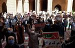 نمازگزاران جمعه ورامین توافق برخی کشورهای اسلامی و اسرائیل را محکوم کردند