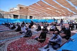 زنجان میں سن 1399 شمسی میں پہلی نماز جمعہ ادا کی گغي