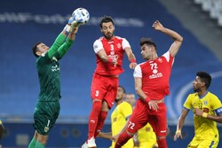 دیدار تیم های فوتبال پرسپولیس و التعاون عربستان