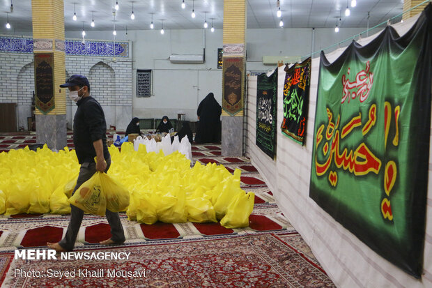 Livelihood assistance packages distributed in Ahvaz