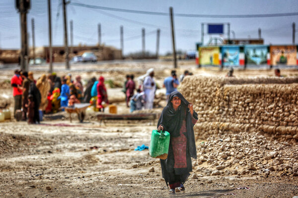 طرح «نذر آب چهار» در سیستان و بلوچستان اجرا میشود