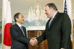 پمپئو با نخستوزیر جدید ژاپن دیدار میکند