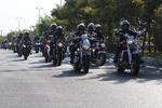رژه بزرگ موتورسواری به مناسبت هفته دفاع مقدس در تبریز برگزار شد