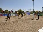 طلسم برگزاری مسابقات ورزشی در خراسان شمالی با والیبال ساحلی شکست