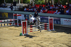 Horse jumping competitions in Isfahan