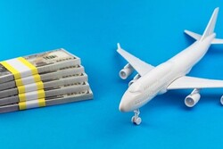 ارتباط مستقیم نوسانات قیمت ارز با افزایش قیمت بلیط هواپیما