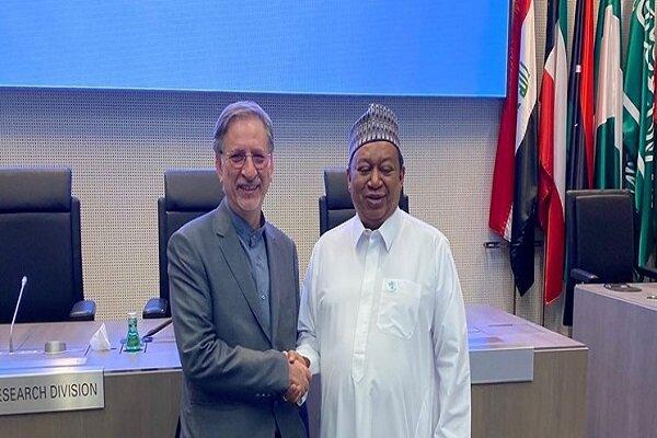 Deputy FM meets with OPEC Sec. Gen. Barkindo in Vienna