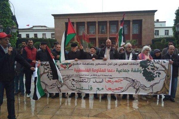 مخالفت مراکشیها با عادی سازی روابط/«فلسطین فروشی نیست»