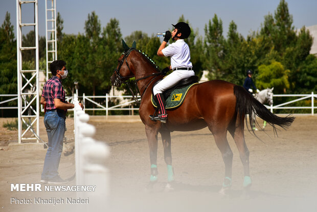 Horse Jumping Competitions held in Isfahan