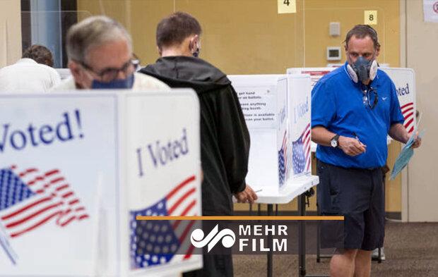 رأیگیری زودهنگام در چند ایالت آمریکا آغاز شد