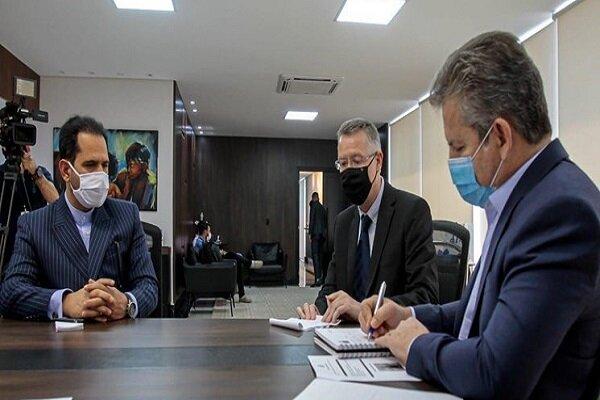 Iran, Brazil stress expanding agricultural coop.