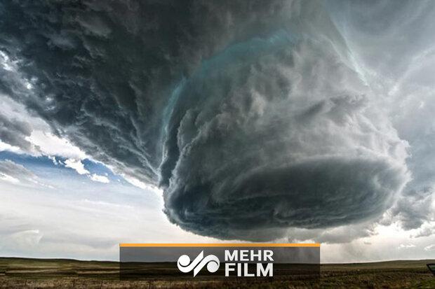 طوفان بیسابقه در آمریکا