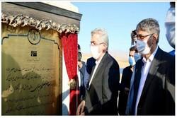 افتتاح و کلنگزنی ۵ پروژه صنعت آب و برق در استان همدان