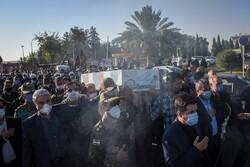 استقبال و تشییع پیکر دو شهید دفاع مقدس در شیراز