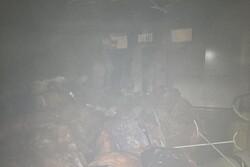 آتش سوزی در خوابگاه دانشجویی در رشت/ حادثه خسارت جانی نداشت