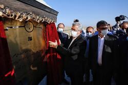 وزير الطاقة يدشّن عدّة مشاريع تنموية في مدينة همدان / صور