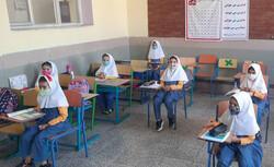 حضور بسیار زیاد دانشآموزان چهارمحالی سر کلاس های درس