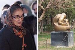 ناهید سالیانی هنرمند مجسمهساز درگذشت