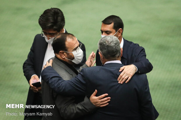 Parliament's open session on Sunday