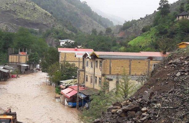 VIDEO: Talesh county hit by heavy rain, flood