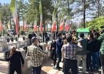 پیکر شهید مدافع حرم در کاشان تشییع و به خاک سپرده شد