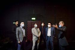 بازدید مدیرکل هنرهای نمایشی از ۴ تماشاخانه خصوصی