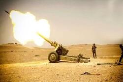 عملیات توپخانهای «حشد شعبی» علیه داعش/ زخمی شدن عناصر تکفیری