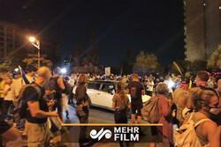 اسرائیلی پولیس نے نیتن یاہو کے گھر کی طرف جانے والی سڑکوں کو بند کردیا