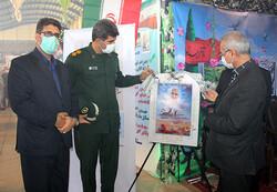 پوستر گرامیداشت چهلمین سالگرد دفاع مقدس در خرمآباد رونمایی شد