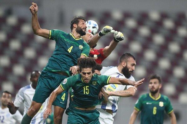 تصویری از حضور بازیکن استقلال در تیم قطری