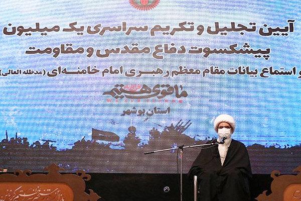 هزاران رئیسعلی دلواری در بوشهر آماده نابودی دشمنان هستند