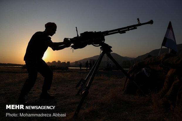 Operation Valfajr-8 simulated on Sacred Defense Week