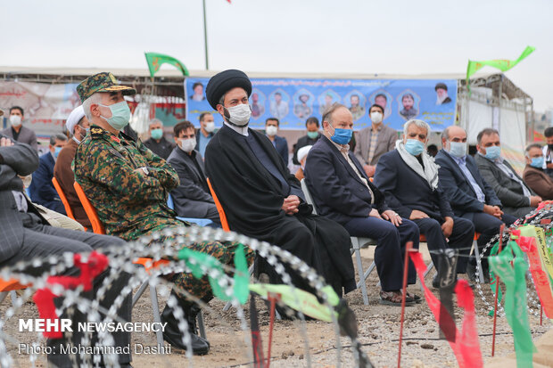 Inauguration of Holy Defense Exhibition in Ardabil