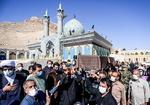 تشییع مادر شهید همت در شهرضا